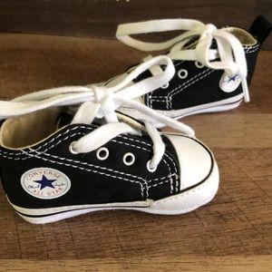Infant converse black size 1